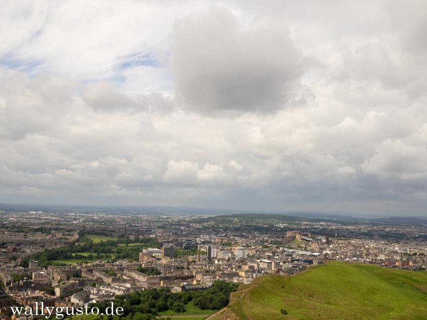 Aussicht vom Arthurs Seat | Edinburgh