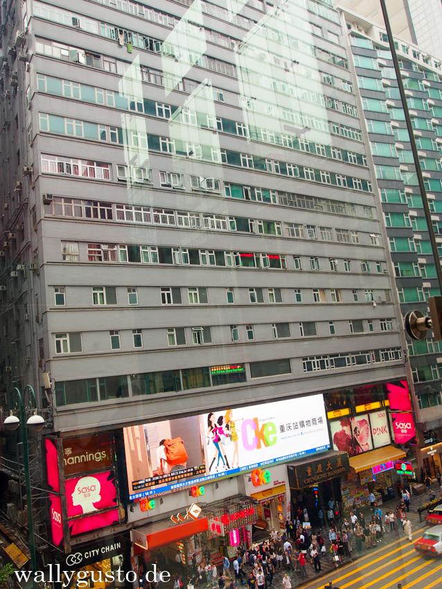 Chungking Mansions sieht alles andere als einladend aus