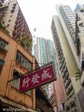 Unterwegs in Sheung Wan