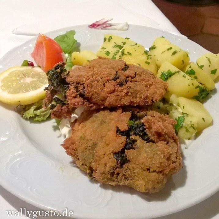 Vegetarisches Essen in der Steirerstub'n am Lendplatz