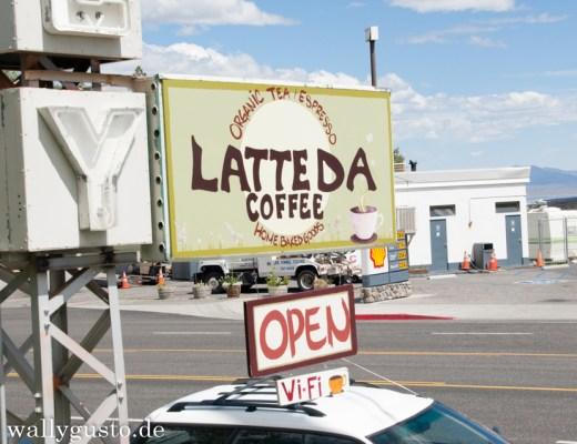 Latte Da Coffee Cafe in Lee Vining, Kalifornien