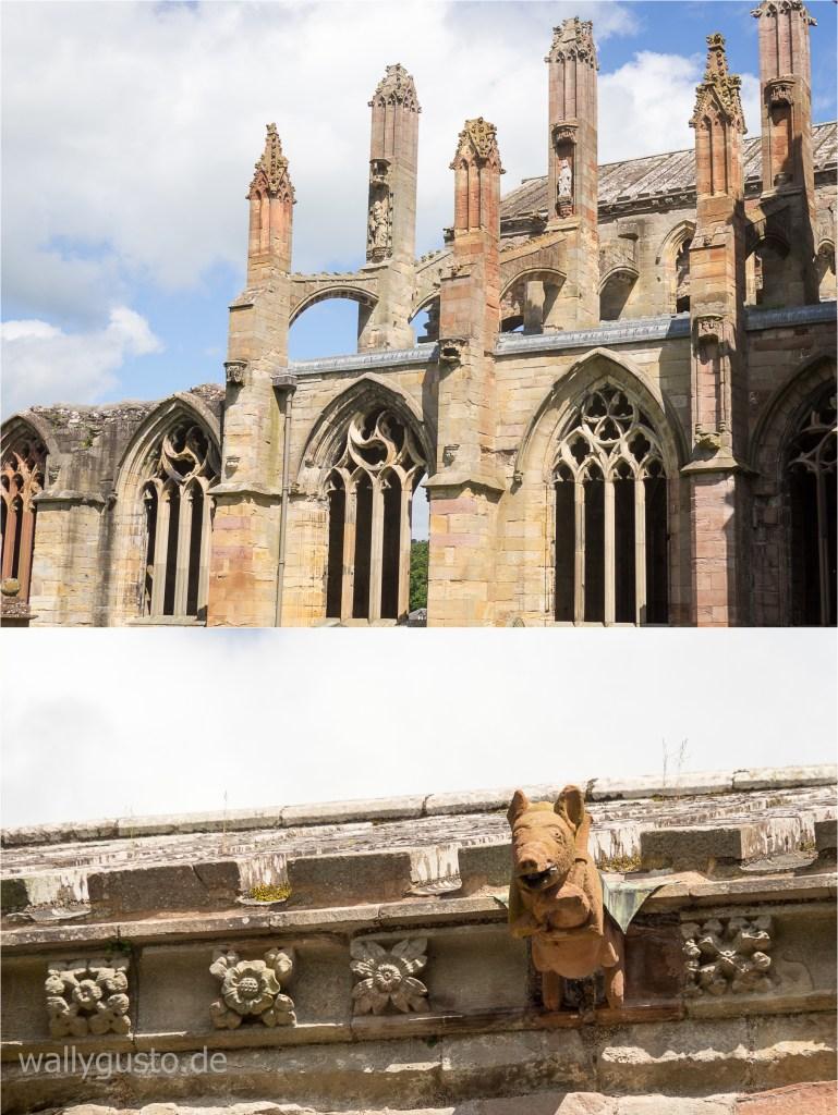 Melrose Abbey | Schottland