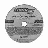 Rotozip Tool Corp. RZMET2 Cut-Off Blades