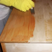 Applying a Gel Stain
