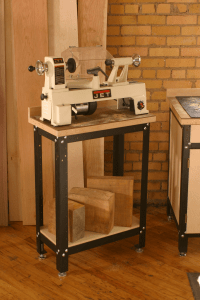 Shop Stand Lathe Station