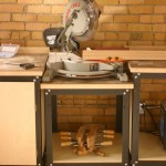 Rockler Shop Stand Miter Saw Station