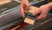 Hinge Mortises on the Tablesaw