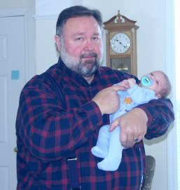 Me and my Grandson Pierce in 2005