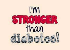 I am stronger than diabetes