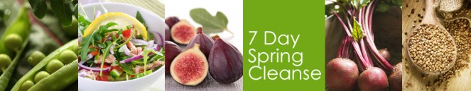 7 Day Spring Cleanse banner