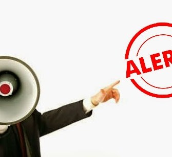 alert message