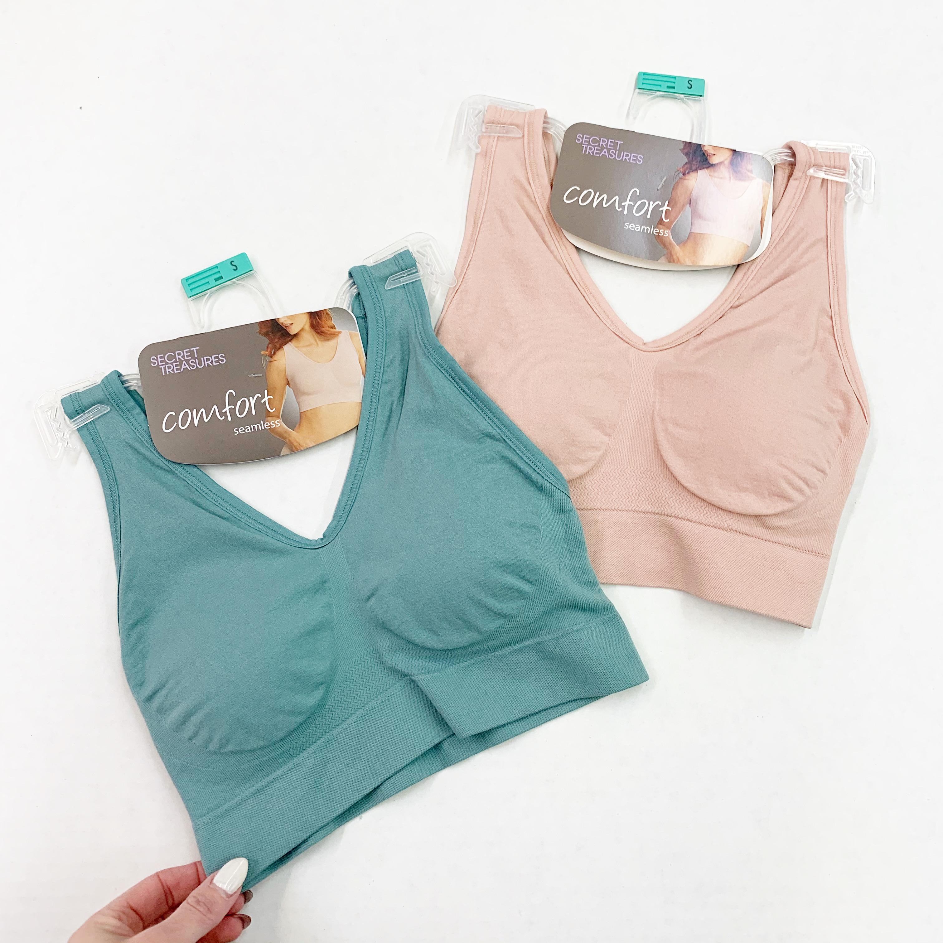 secret treasures seamless comfy bra
