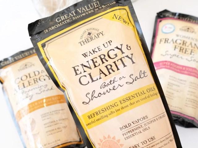 Village Naturals Therapy Shower Salt at Walmart