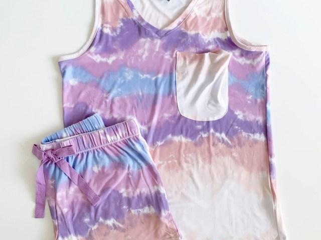 Jaclyn Intimates Dip Dye Pajama Set
