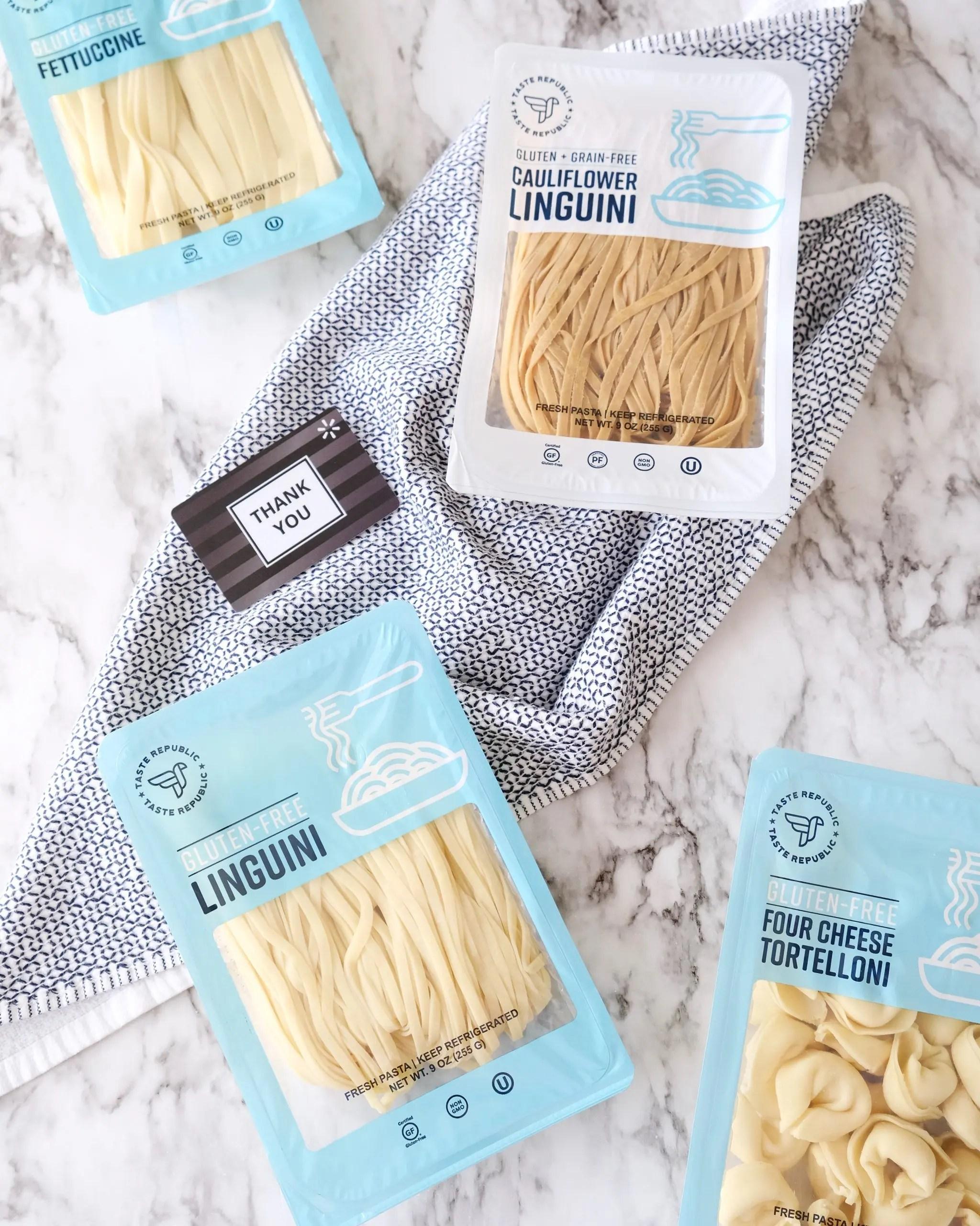 taste republic gluten-free pasta at walmart