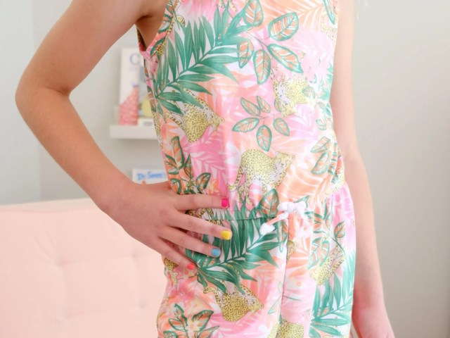 Wonder Nation Jungle Print Romper