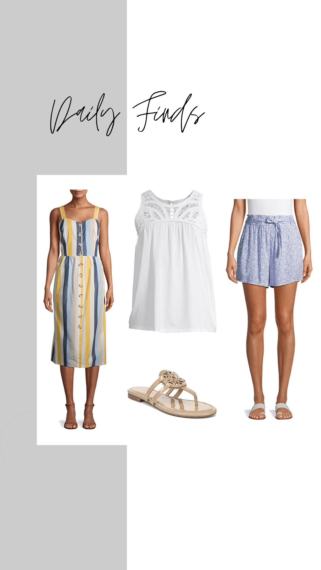 New Summer Clothing Finds, Time and Tru + More