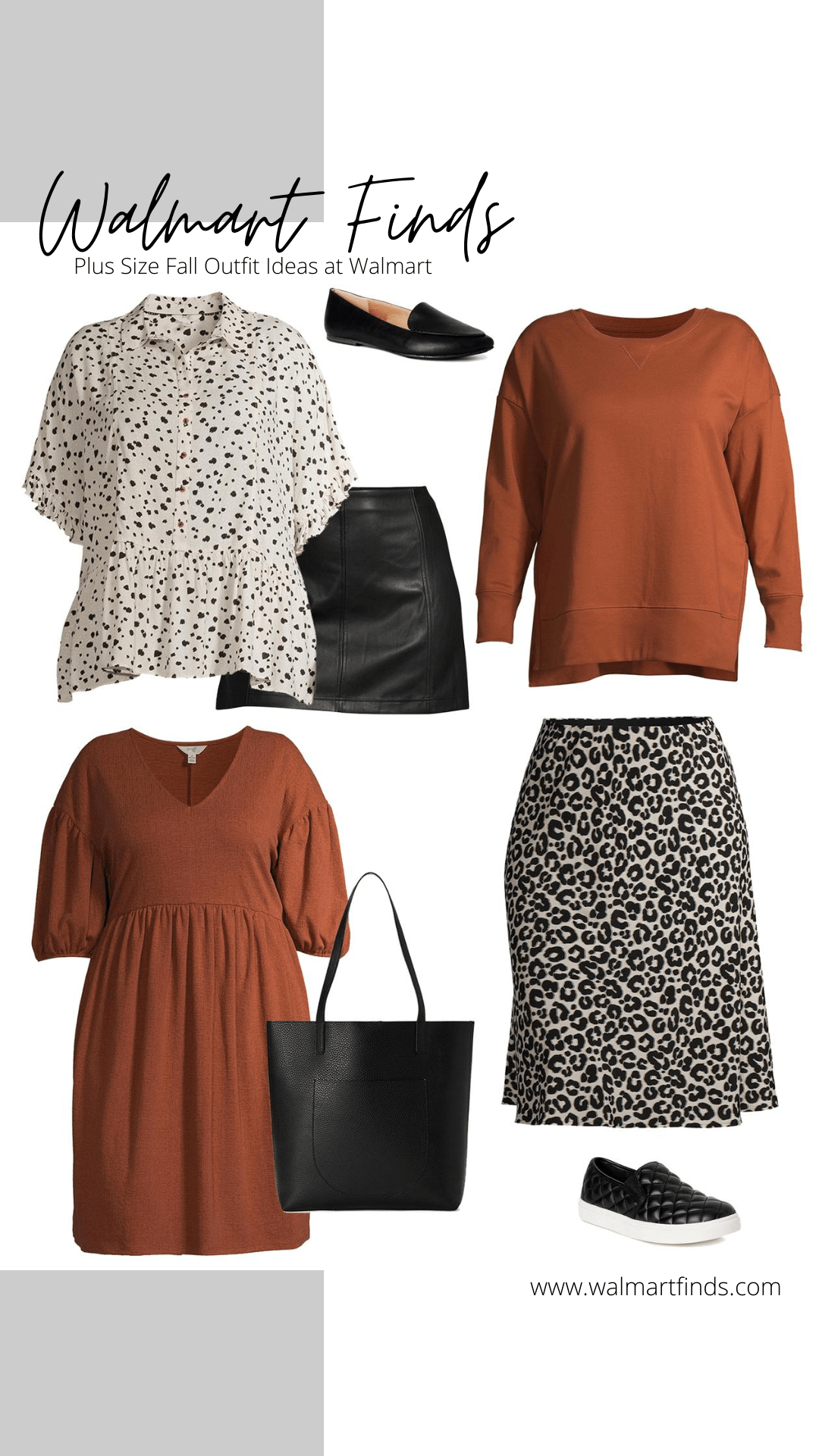 plus size fall outfit ideas at walmart