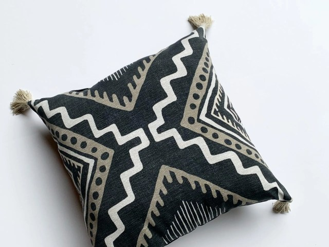 Better Homes and Gardens Outdoor Tribal Toss Pillow