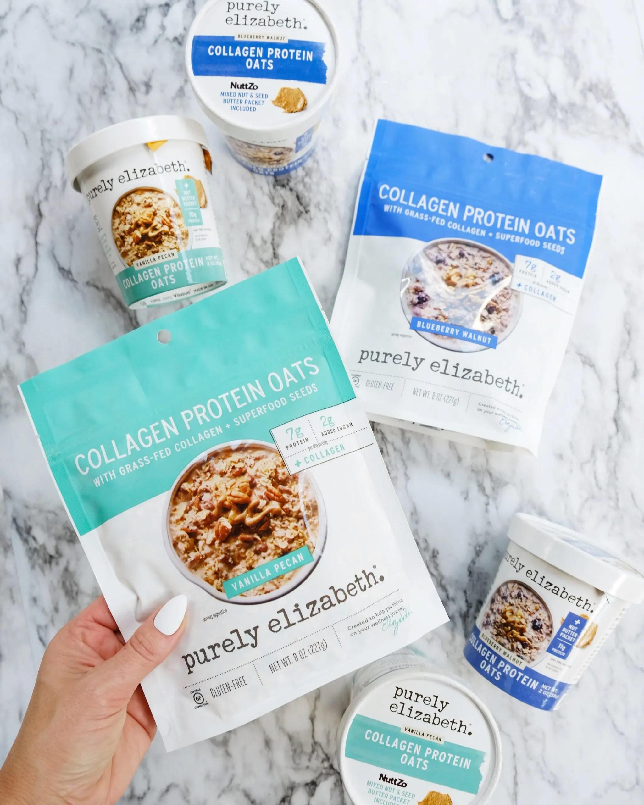 Purely Elizabeth Collagen Protein Oats at Walmart