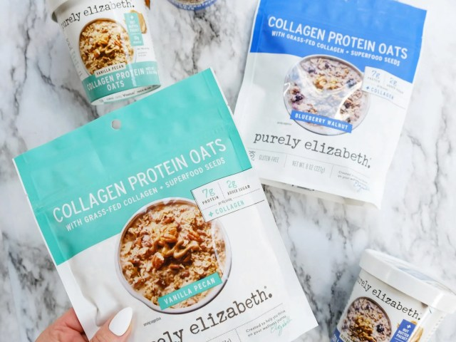 Purely Elizabeth Collagen Protein Oats at Walmart