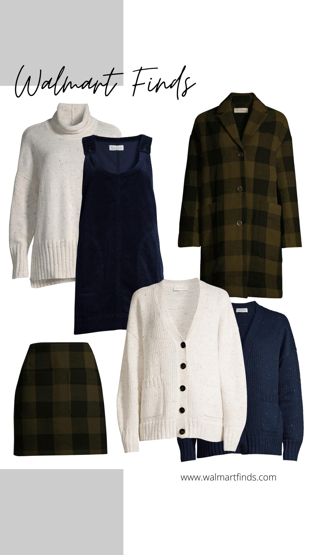 New Free Assembly Favorites - cowl neck sweater, corduroy dress, grandpa cardigan