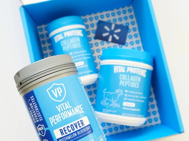 Vital Proteins Collagen Peptides and Vital Performance Recover at Walmart