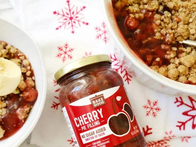 BakeGood Cherry Pie Filling and Cherry Crisp Recipe