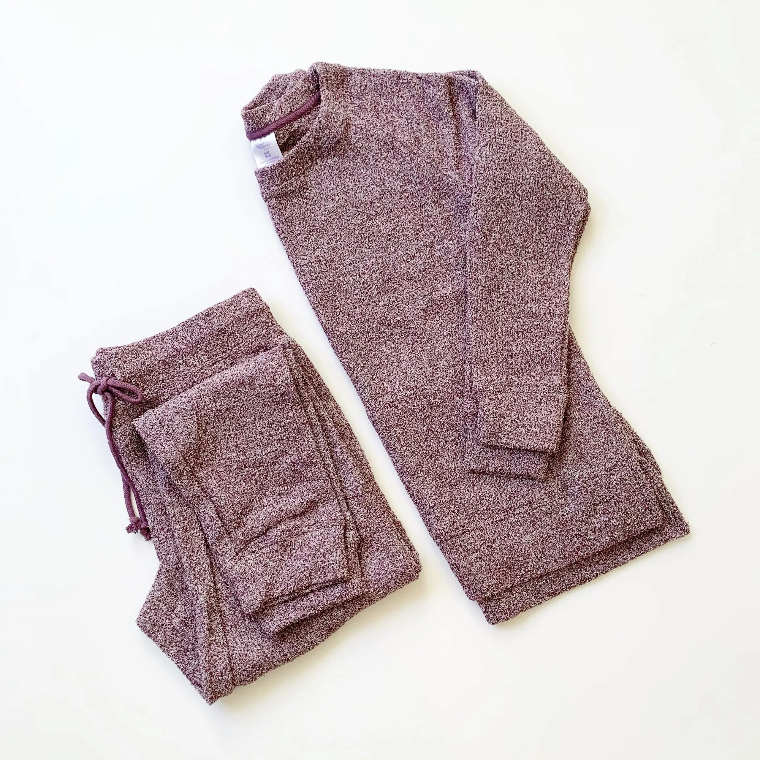 Secret Treasures Chenille Pajama Set