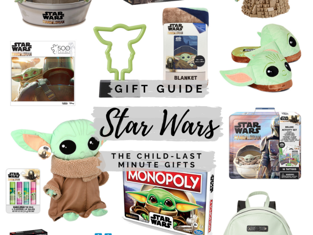 Gift Guide – Star Wars The Child Last Minute Gifts