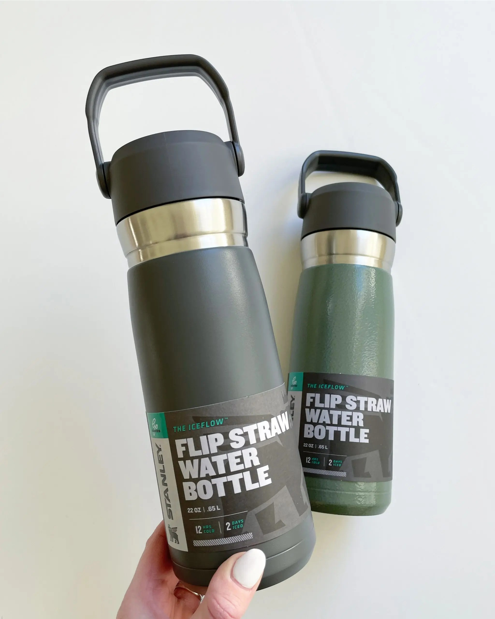 Stanley Flip Straw Water Bottle stainless steel insulated water bottle