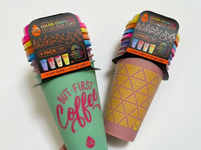 Tal Color Changing To-Go Hot Cups