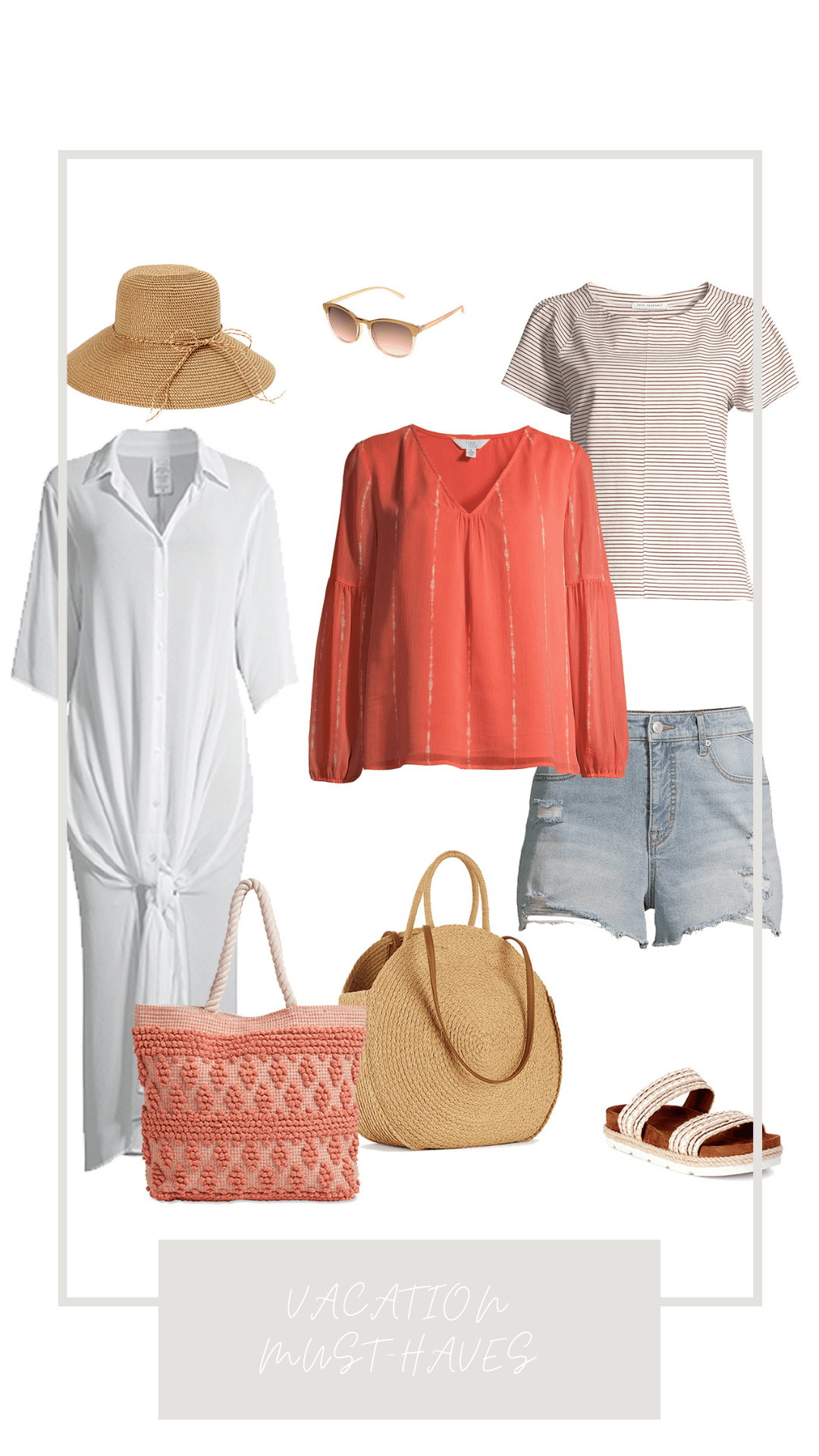 Affordable Vacation Must-Haves from Walmart