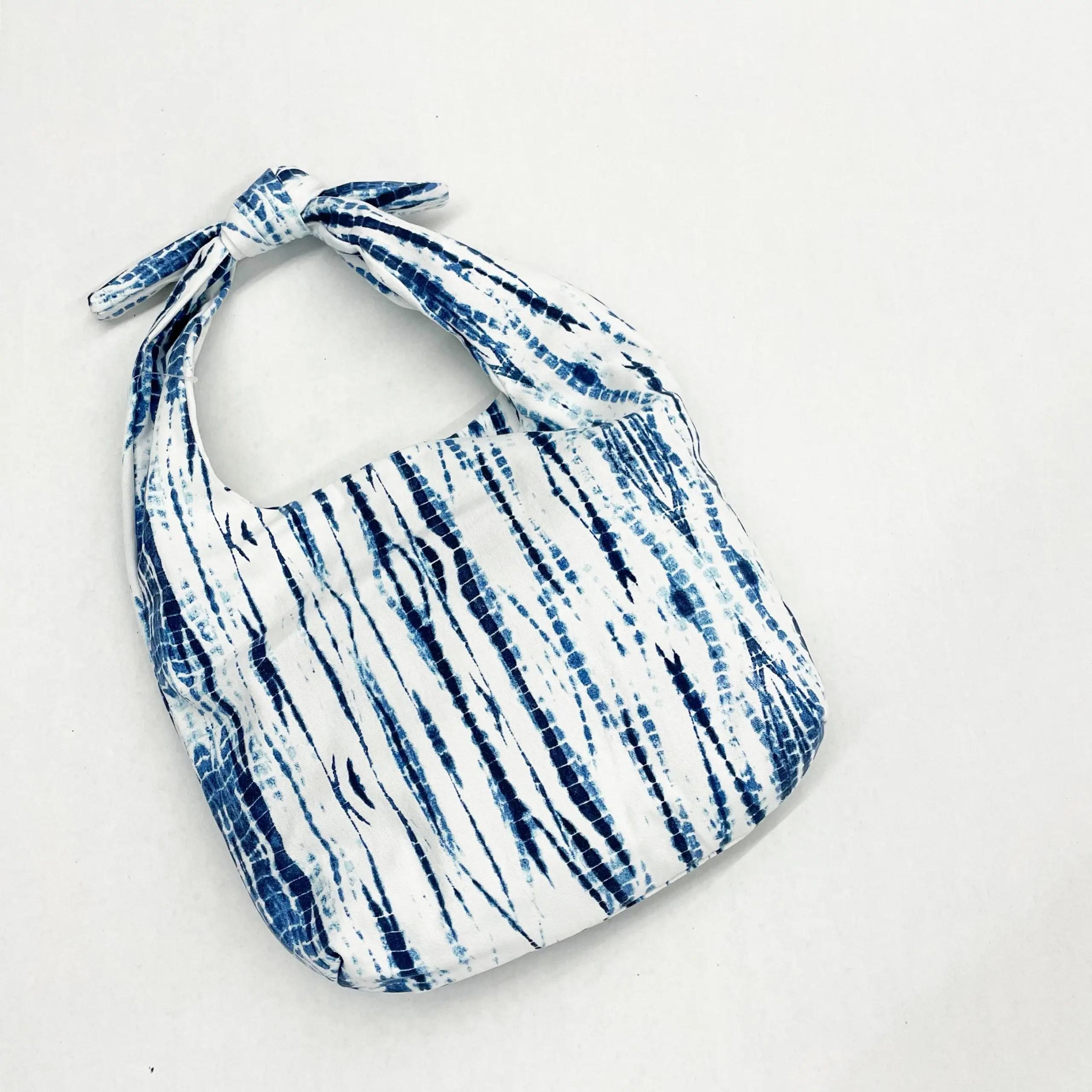 Time and Tru Tie Dye Hobo Bag with Inside Zipper Pocket