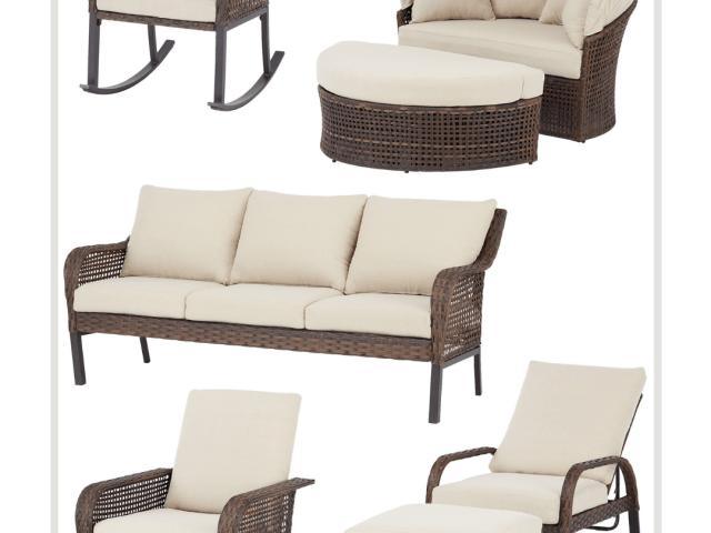 Mainstays Tuscany Ridge Outdoor Furniture