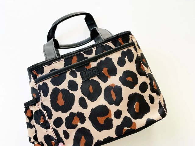 Fit+Fresh Lunch on the Go Leopard Print Lunch Tote