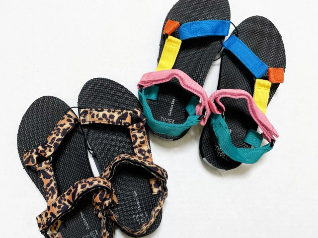 Time and Tru Nature Sandal