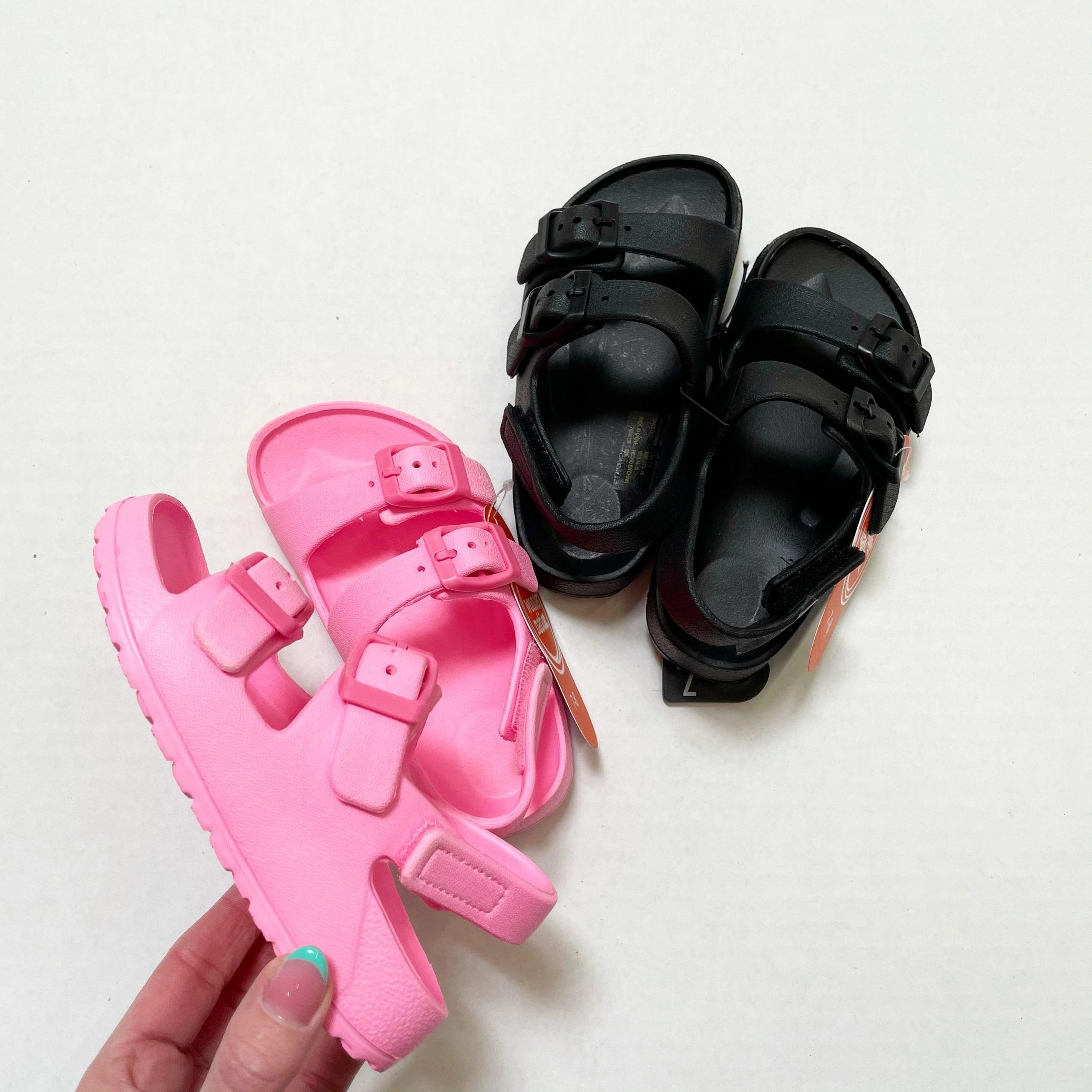 Wonder Nation Kids Beach Footbed Sandals