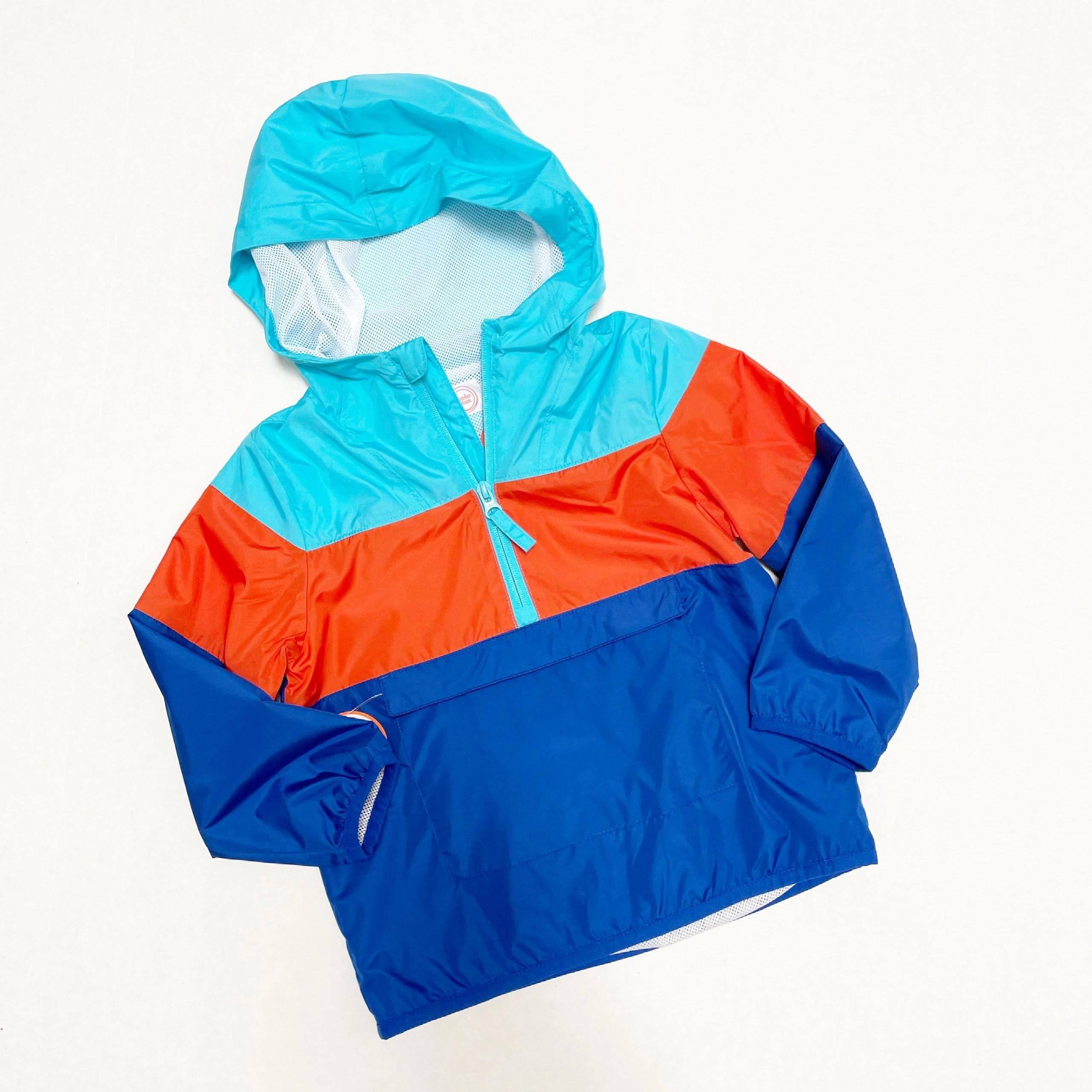 Wonder Nation Baby and Toddler Boys Packable Stripe Windbreaker Jacket