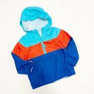 Wonder Nation Boys Packable Stripe Windbreaker Jacket