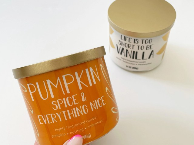 Mainstays Pumpkin Scented 3-Wick Candle