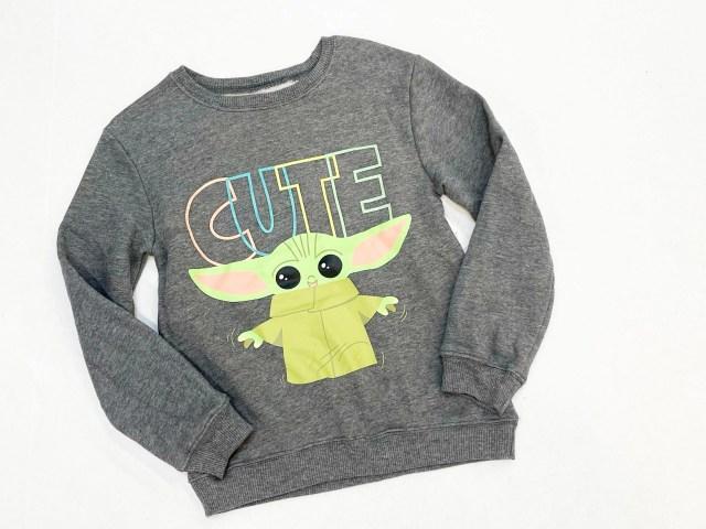 Star Wars Baby Yoda Girls Sweatshirt