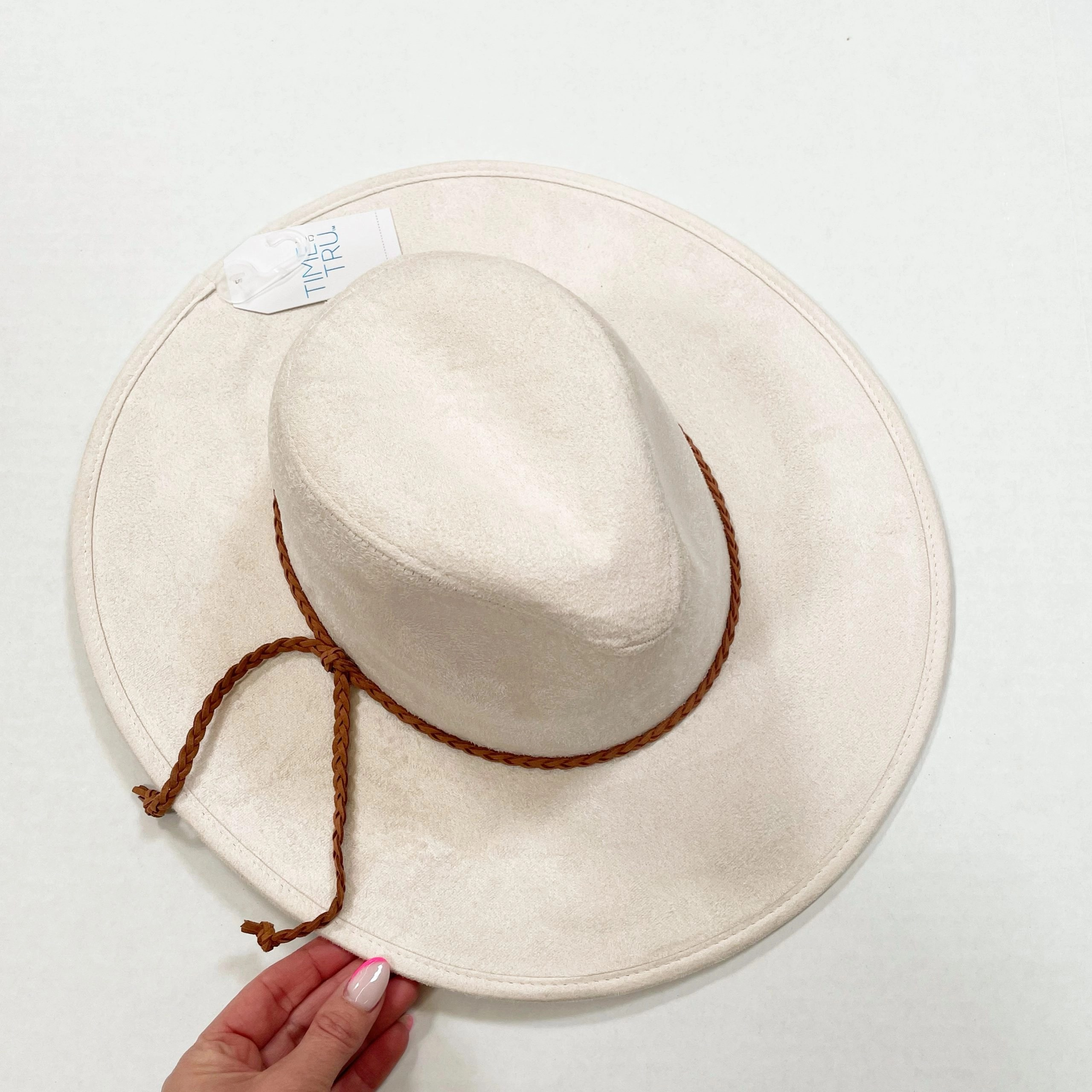 Time and Tru Suede Fedora