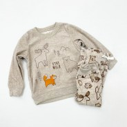 """Child of Mine by Carter's Baby Boys Long Sleeve Woodland  """"Stay Wild"""" Outfit"""