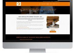 eCommerce site for ToeKickDuctor.com