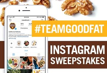 #TeamGoodFat Instagram Sweepstakes