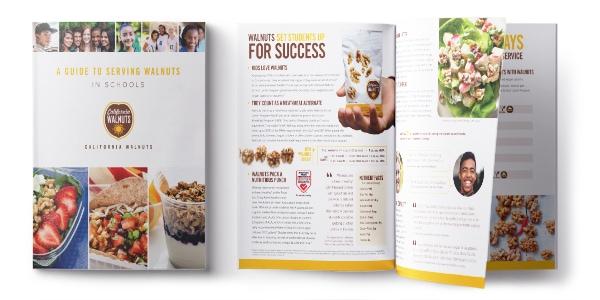 School Foodservice Brochure Graphic