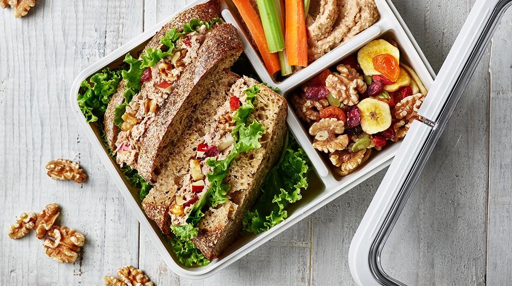 Bento Tuna Salad Sandwhich