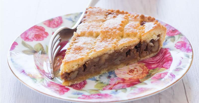Walnut Dessert Pie