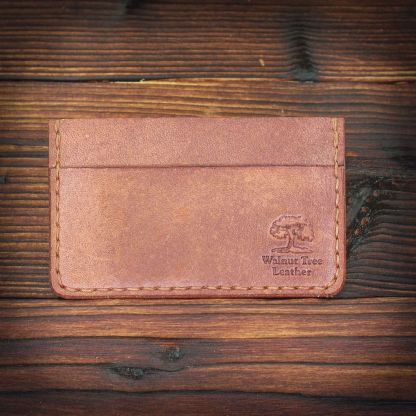 Bristol handmade leather wallet